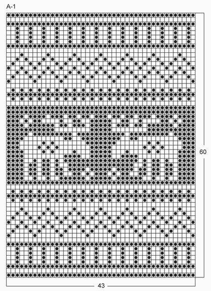Милые сердцу штучки: Вязание на спицах: Прихватки с новогодним рисунком (3)