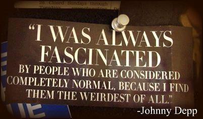 -Johnny DeppJohnny Depp, Normal People