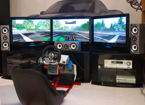 Multiplayer Gaming Room
