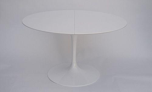 Tavolo Tulip da pranzo ovale o rotondo con piano allungabile in Laminato Tavolo E. Saarinen BAUHAUS RE EDITION