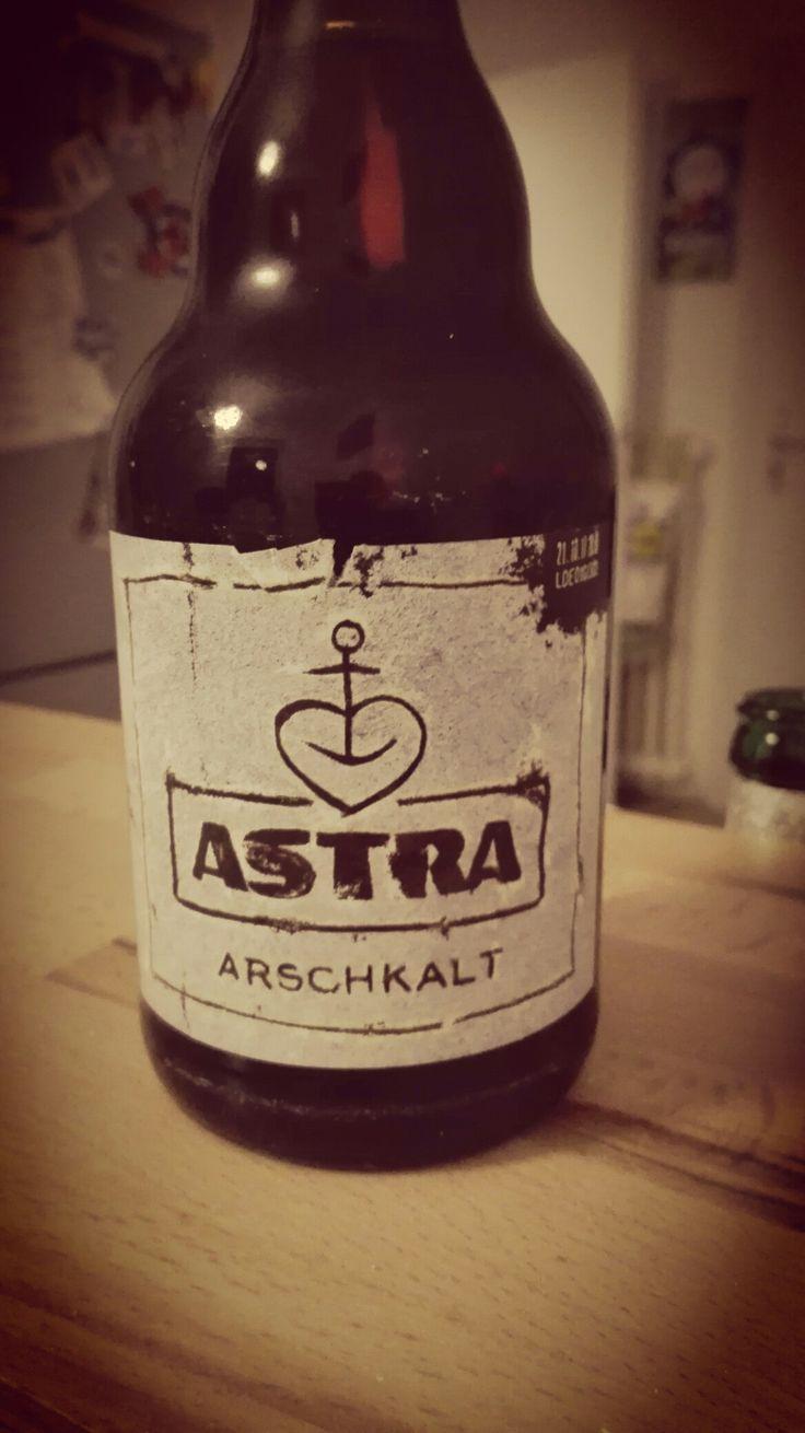 Sehr leckeres Bier aus dem Hause Astra (Holsten Brauerei) #astra #beer