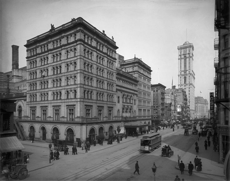 The Old Metropolitan Opera House was built in 1883 near Times Square. It was the first home of the Metropolitan Opera Company, but was demolished in 1967 and performances were moved to Lincoln Center.