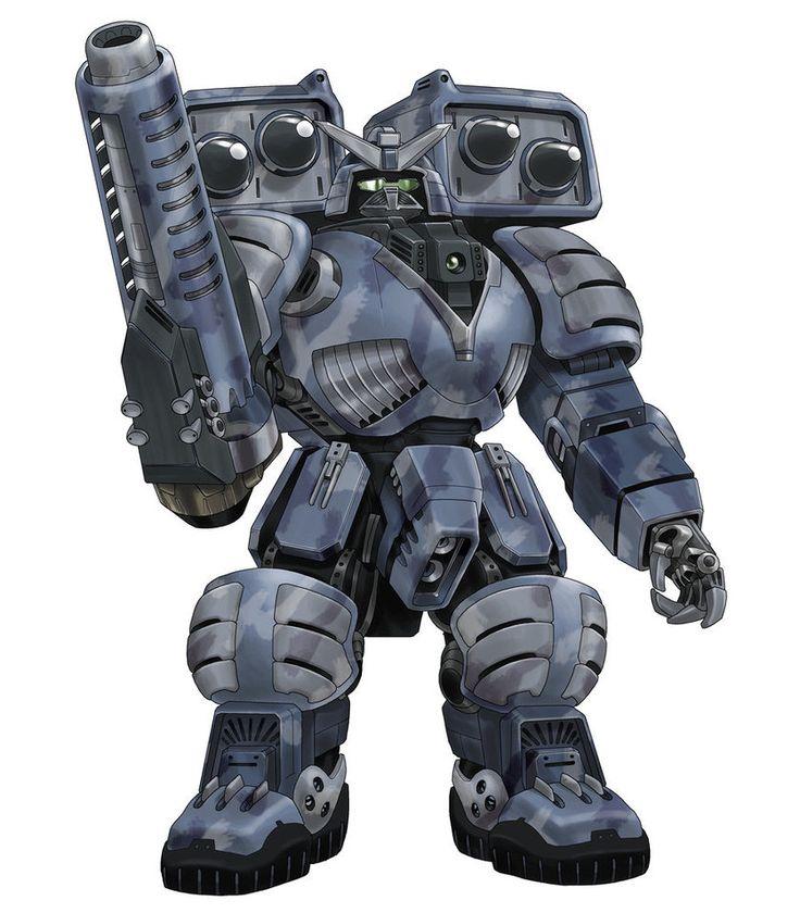 Clan Medium Battle-Armour. Armament: 2xSRM-2s, Right/Arm