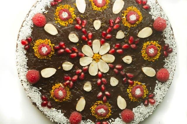 How Make Mandala Raw Cake