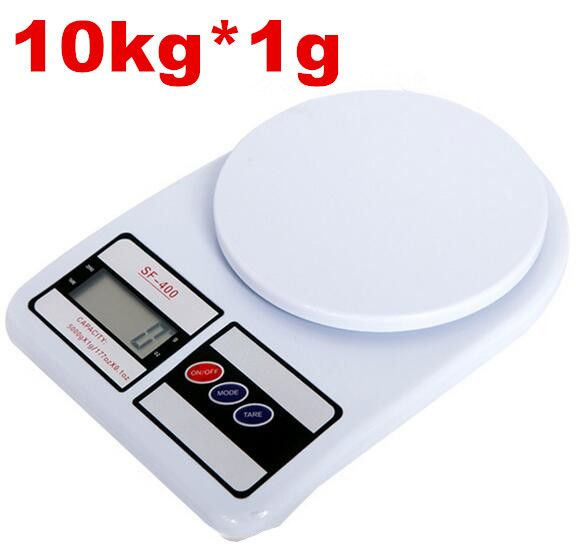 10kg 1g Digital Scale Household Kitchen Platform Weight Electronic