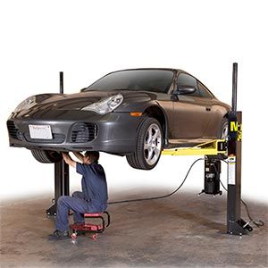 Garage/Workshop: Dannmar MaxJax™ 2-post Portable Auto Lift. $2299.99