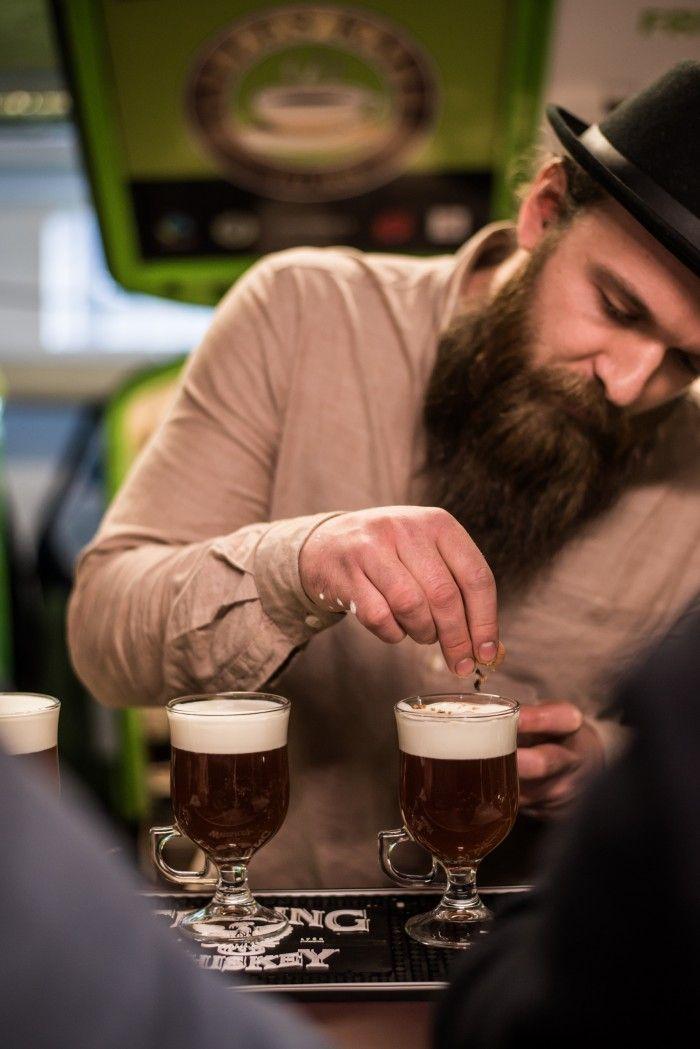 Irish Coffee with Teeling whiskey by Chris Stewart from Balderdash