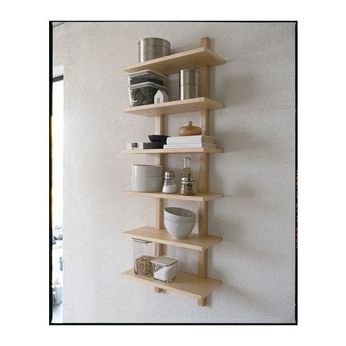 Kitchen Shelves Either Side Of Window: IKEA Possible Solution For