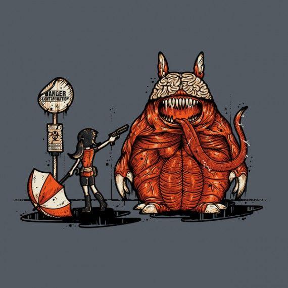 Mon Voisin Totoro - Resident Evil