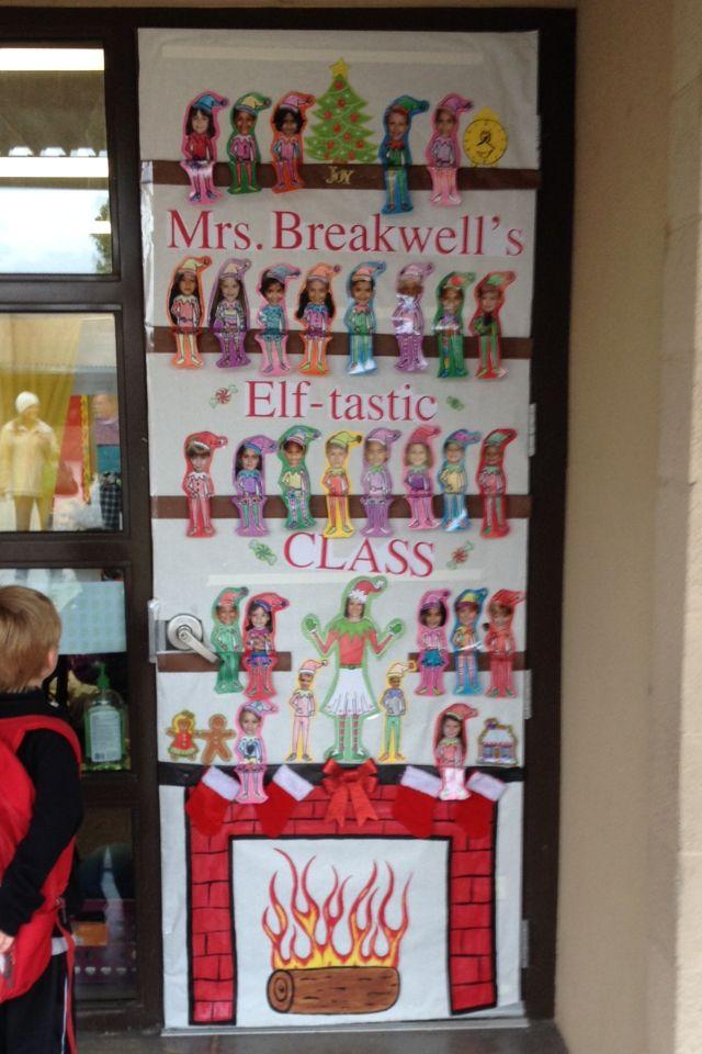 Classroom Elf Ideas ~ Best christmas bulletin boards images on pinterest