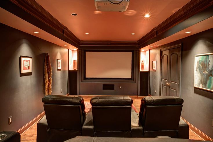 10 Home Movie Theater Design & Seating Ideas | Home Design Examples