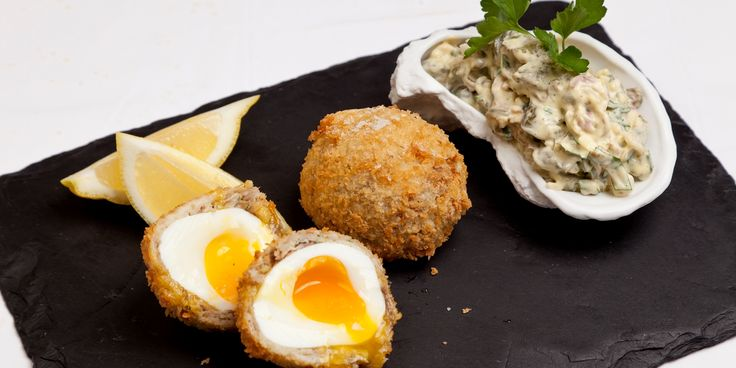 These surprisingly simple smoked mackerel Scotch eggs from James Mackenzie make a great alternative to the classic pork version