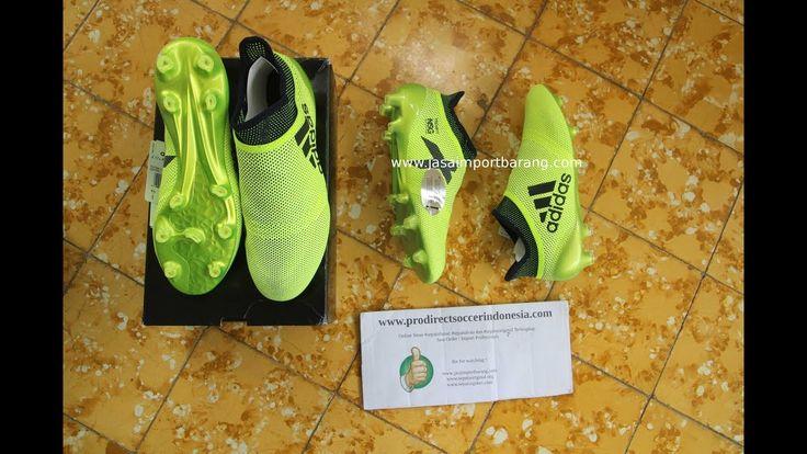 Sepatu Bola Adidas X17 Purespeed Fg Solar Yellow Legend Ink