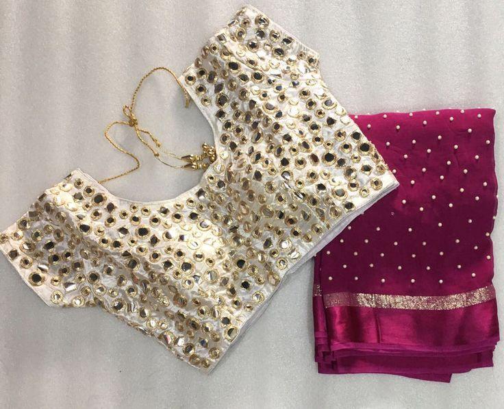 Sarees bollywood designer saree with ready made blouse party sari free shipping | eBay