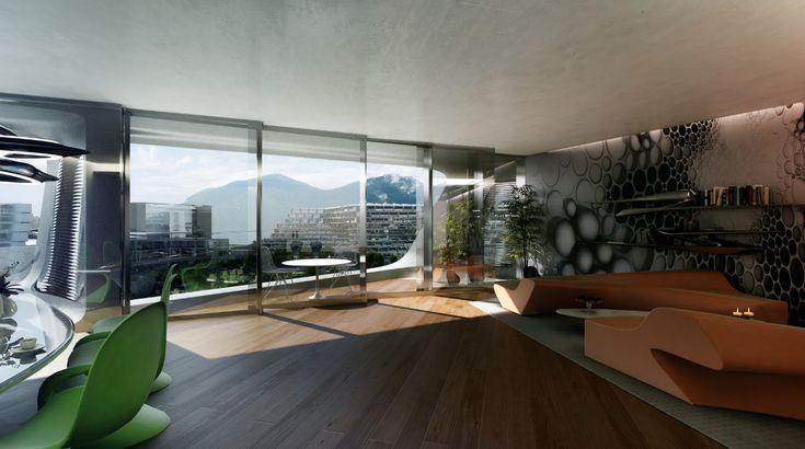 Esfera City Center in Monterrey. Zaha Hadid Architects