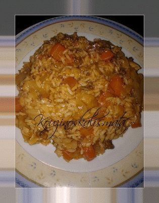 ζινοΣκαλίσματα: Λαχανόρυζο με κιμάΚου