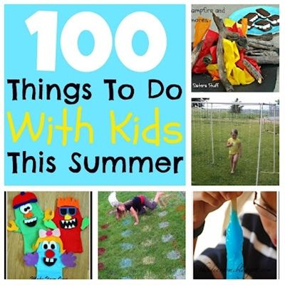 100 Things To Do With Kids This Summer | Six Sisters' Stuff