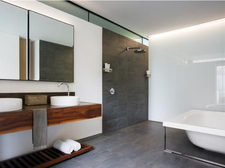 bao 02 house encourages luxury outdoor living in south africa - Luxury Open Showers