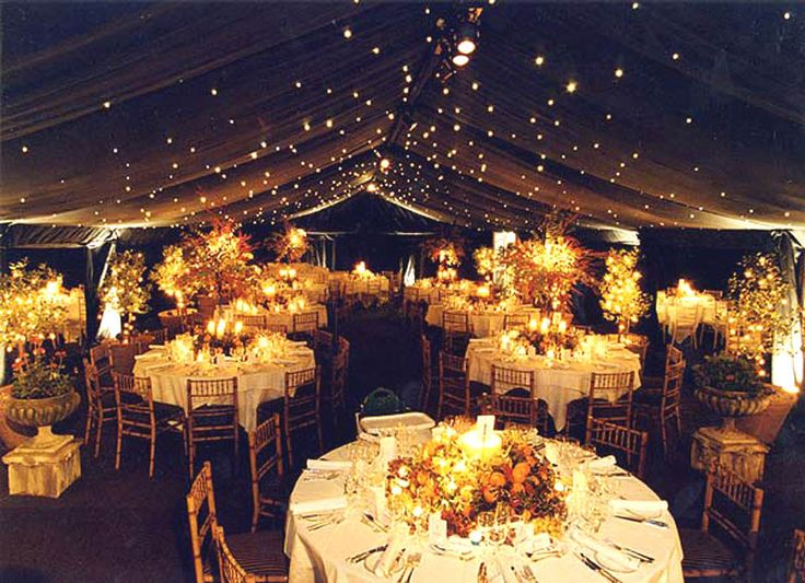 Starry lighting on a canopied ceiling is such a romantic idea!