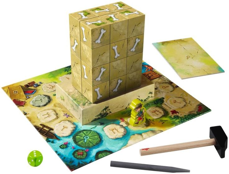Expedition Dino - 3D Discovery Board Game | HABA USA