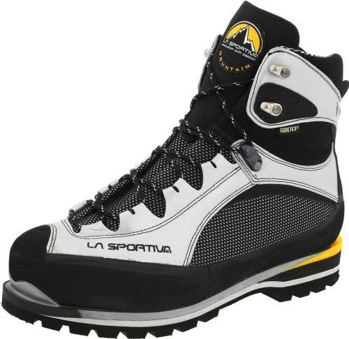 Trango Extreme Evo Light GTX Mountaineering Boot - Men's Guaranteed Summit Silver 44 by La Sportiva - http://authenticboots.com/trango-extreme-evo-light-gtx-mountaineering-boot-mens-guaranteed-summit-silver-44-by-la-sportiva/