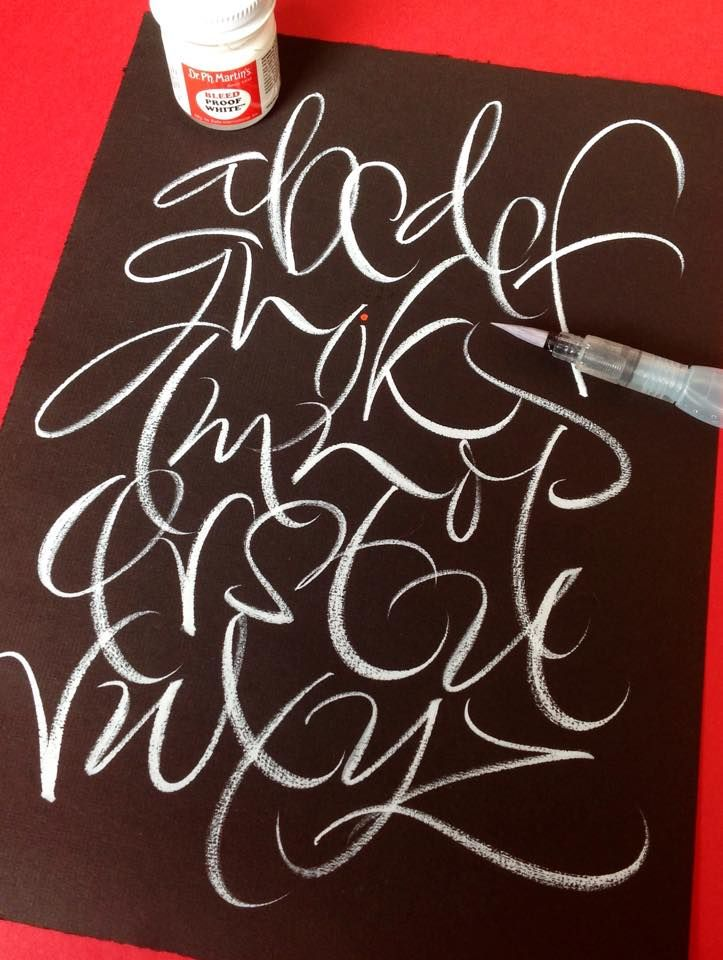 brushpen alphabet calligraphy by rachel yallop calligraphy masters