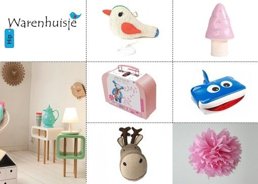 Van hippe kinderkamer accessoires tot schattige koffertjes. Wat heeft het Hip Warenhuisje veel unieke en stijlvolle items voor de kinderkamer, speelkamer of woonkamer!