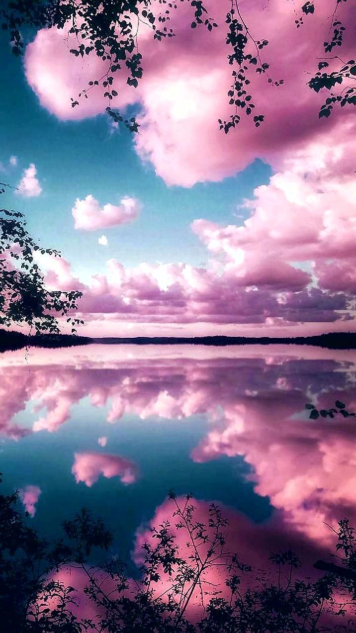 Download Reflecting pink sky Wallpaper by Goodfellagrl 0d Free