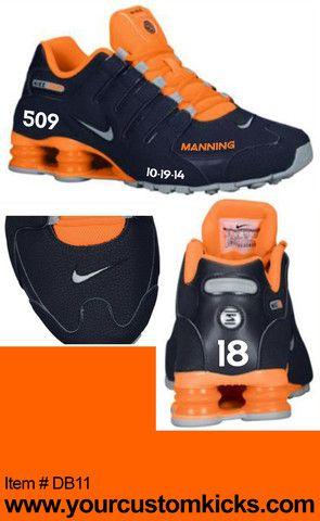 Peyton Manning Commemoritive 509 Nike Shox Shoe – JNL Apparel