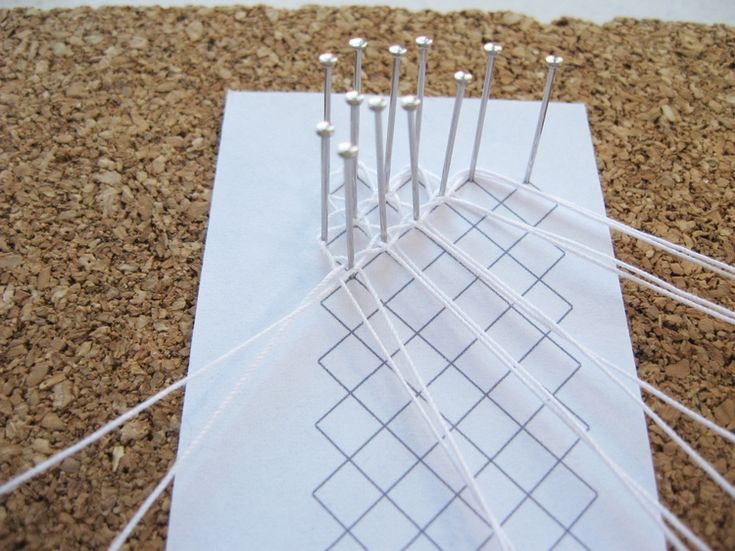 Whole Stitch Ground / Torchon Ground - How Did You Make This? | Luxe DIY