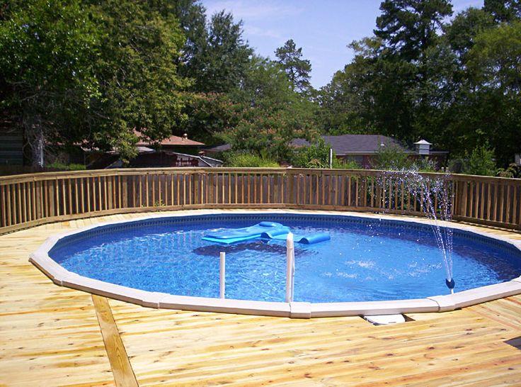 Good Above Ground Pool Deck