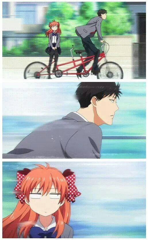 Gekkan Shoujo Nozaki-kun - Always poor Chiyo lol