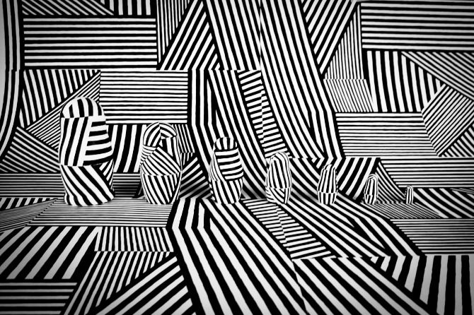 Dazzle Camouflage (Russian dolls) - Oliver Stafford  --  Dazzle Camo  CUBISM AT WAR
