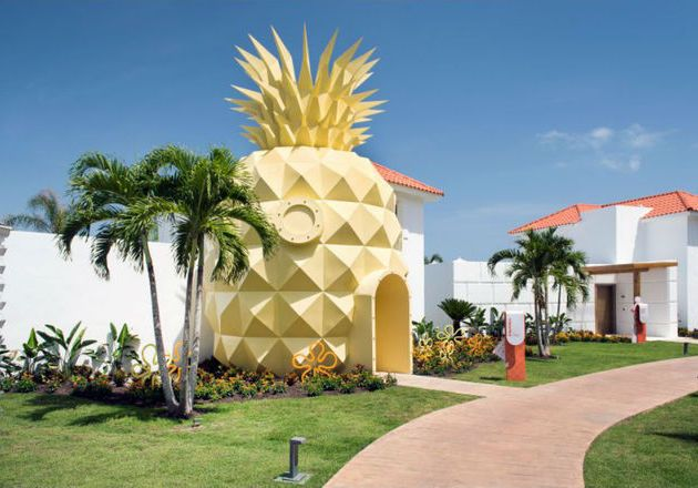 Hotel Nanas ala SpongeBob Kini Hadir Secara Nyata | Travel.Dream.co.id