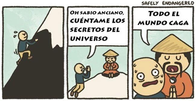 Los secretos del universo.