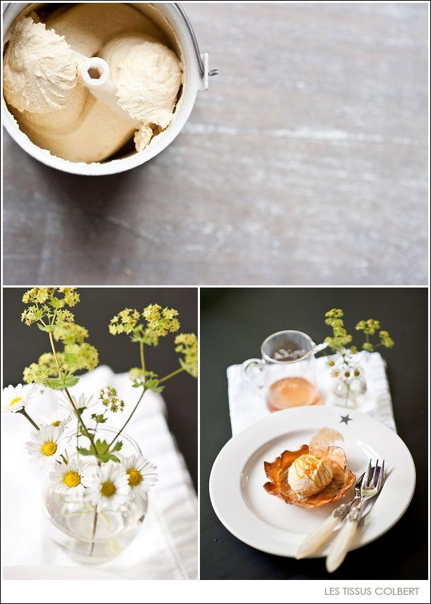 Eis N° 3: es ist soweit, tataaaa – das beste VanilleEis der Welt | Les Tissus Colbert