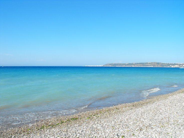 Ialyssos Beach, Rhodes, Greece