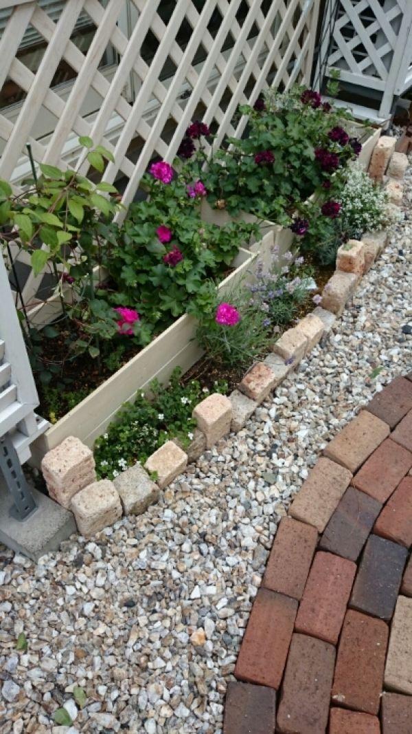 towaさんの作品『簡単レイズドベッド花壇』 | セルフリフォーム.com BEFORE