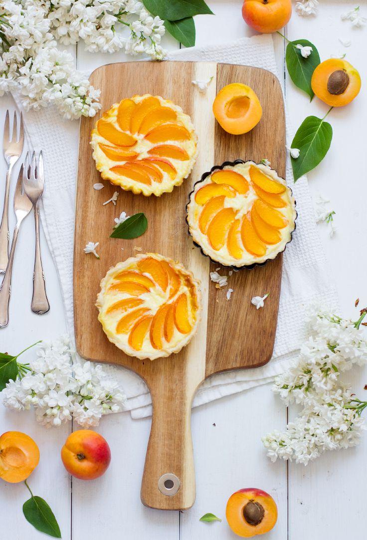 Aprikosen Schmand Tarteletts