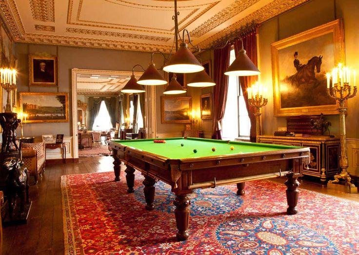 The Billiard Room - Althorp Estate