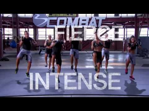 Based on the popular BODYCOMBAT classes, Les Mills Combat blends calorie-blasting interval training with the most effective body-shredding and explosive moves from a range of martial arts disciplines, the LES MILLS COMBAT workout pushes your body to the limit.