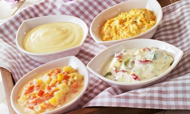Einfache Varianten mit w�rzigen Dips f�r jedes Grillfest