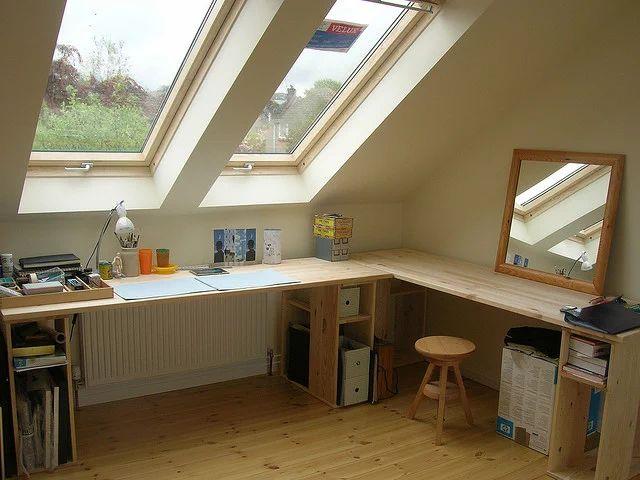 広々作業台な屋根裏部屋 | Sumally