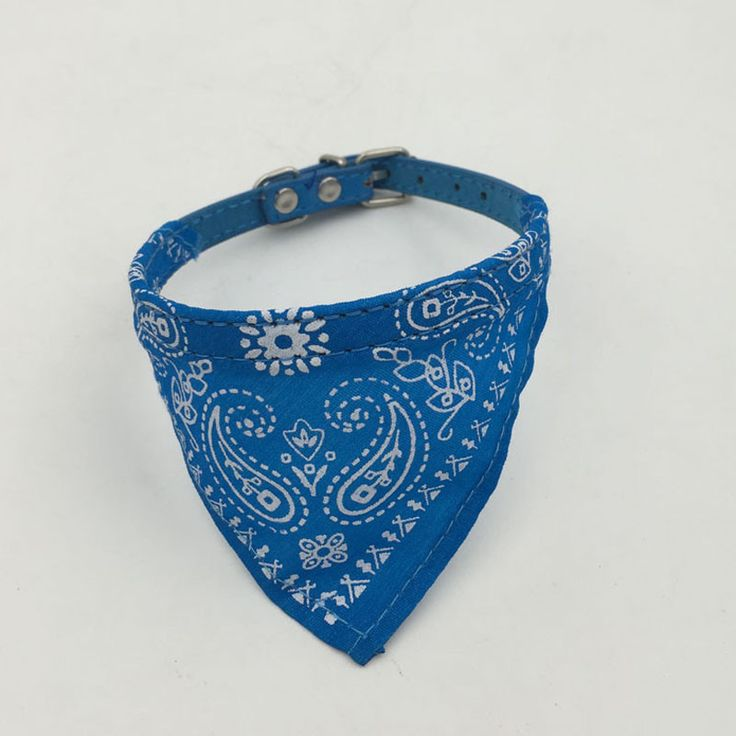 Your dog needs to wear a collar, but there is no reason it can't be done in style! Be the hit of the neighborhood while walking down the street donning one of these colorful bandana collars. Buy a ban