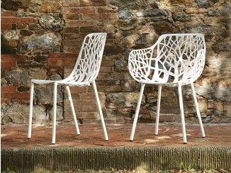 Stapelbarer Gartenstuhl aus Aluminium FOREST   Stuhl aus Aluminium - FAST