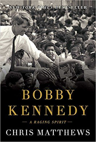 """Bobby Kennedy: A Raging Spirit - Chris Matthews, the host of MSNBC's Hardball, has discovered what made him who he was. By tracing Kennedy's life from early boyhood, he's found the man's moral roots. He's answered the question of how this idealist could be called """"ruthless,"""" and how this devoutly religious man could also be deeply ambitious."""