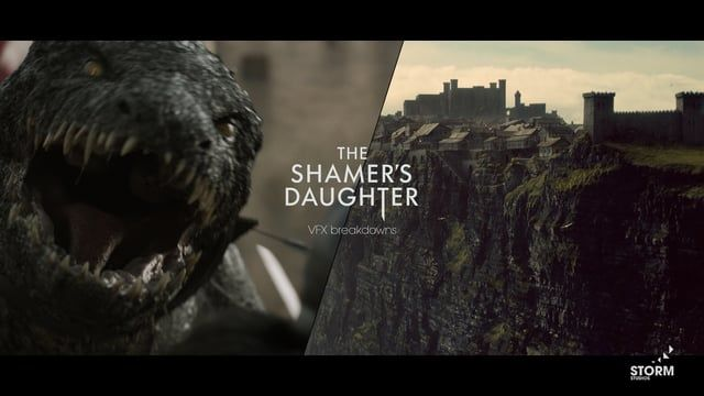"""Our talented team created some amazing dragons for the Danish fantasy feature film """"The Shamer's Daughter"""". We completed a total of 140 shots, 65 of them with CG dragons in them. We also designed and built the fortress town of Dunark from scratch in 3D and added details like crowds in the streets, animals and smoke from the chimneys. The result is a beautiful environment that helps tell this compelling story and places the viewer in a believable imaginary world rich in detail.   It's been…"""