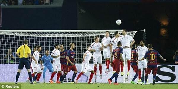 Seru! Ungguli Sevilla 5-4, Barcelona Juara UEFA Super Cup 2015