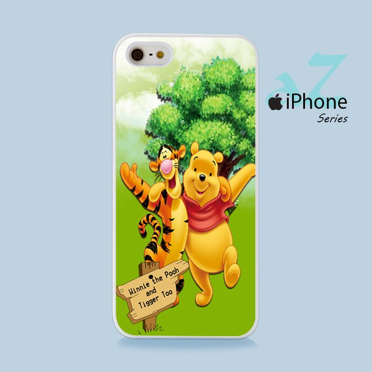 Winnie The Pooh & Tiger Phone Case | Apple iPhone 4/4s 5/5s 5c 6/6s 6/6s Plus Samsung Galaxy S3 S4 S5 S6 S6 Edge S7 S7 Edge Samsung Galaxy Note 3 4 5 Hard Case