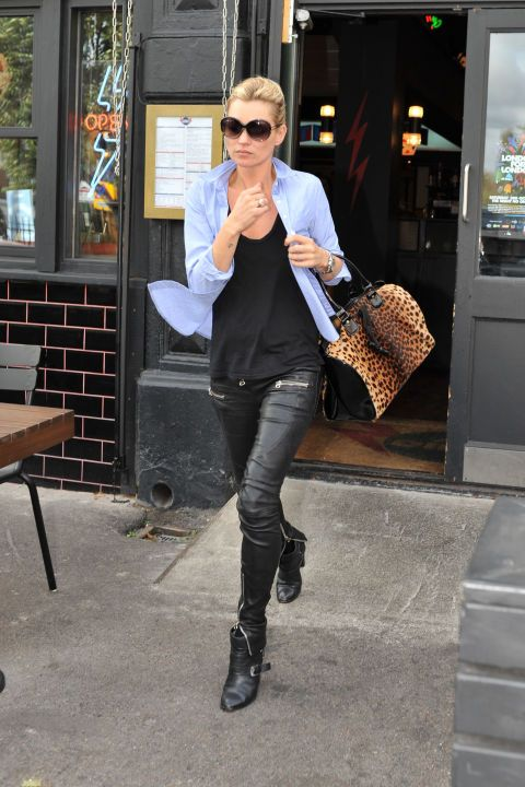 Kate Moss Style - Kate Moss Street Style Photos